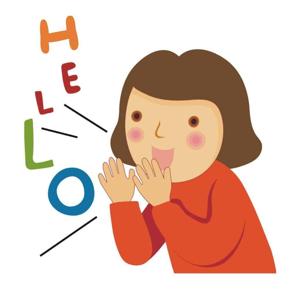 Image result for kids speaking cartoon