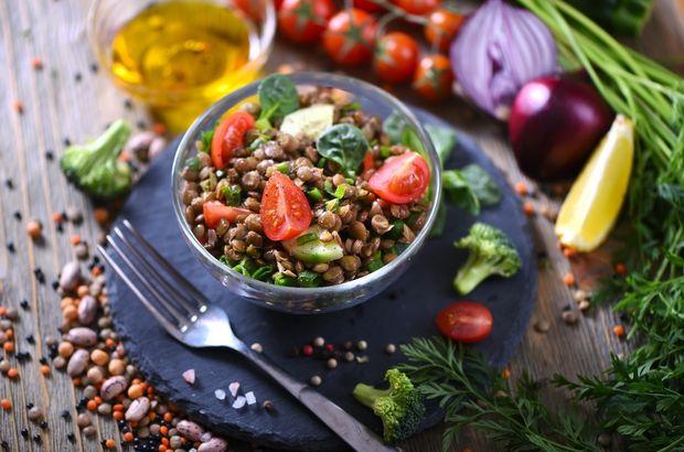 patlicanli yesil mercimek salatasi