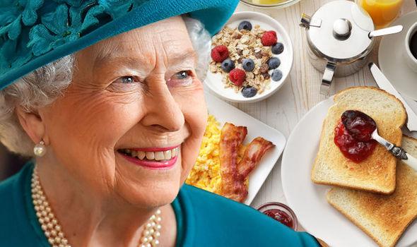 kraliçe ve yemek